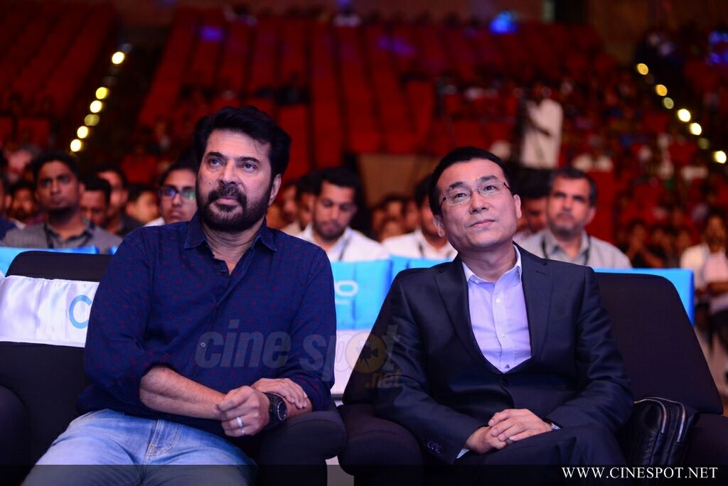Vivo V7 Plus Launch by Mammootty (6)