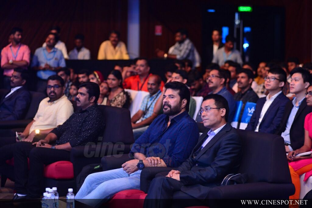 Vivo V7 Plus Launch by Mammootty (8)