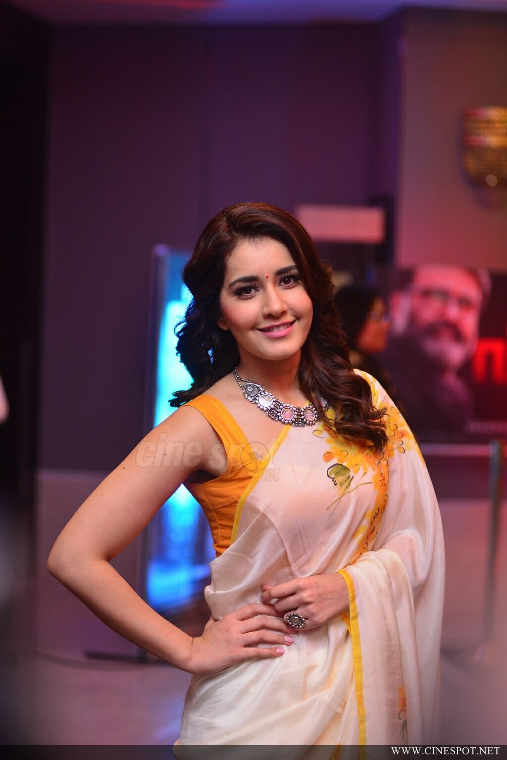 Raashi Khanna at Villain Audio Launch (15)