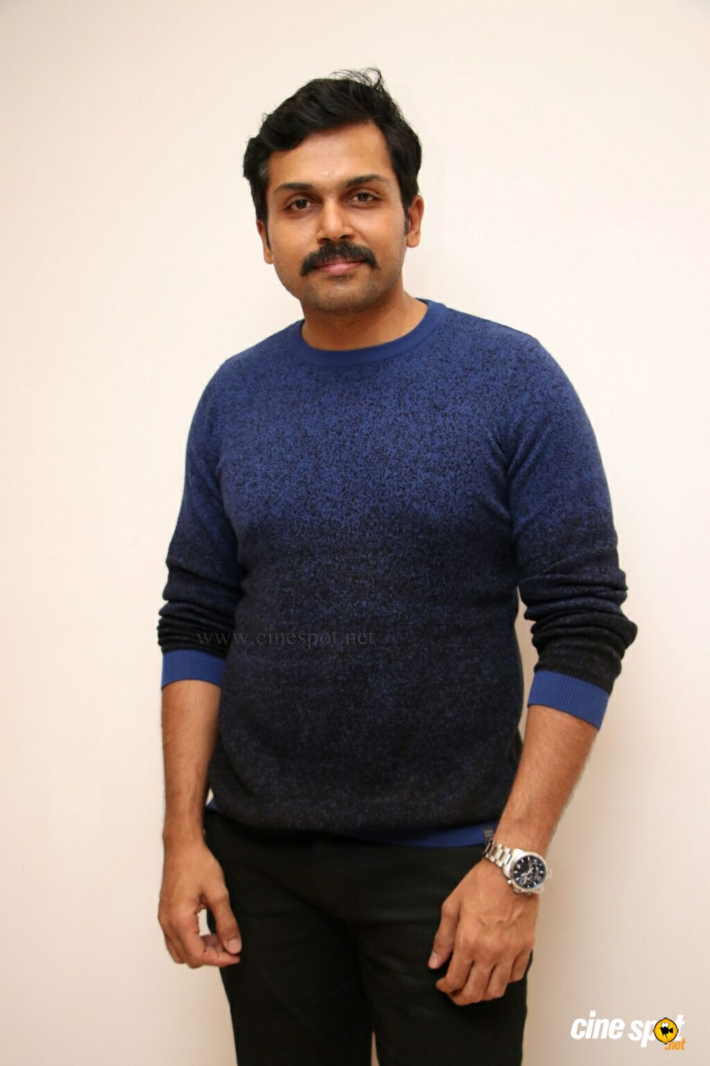 Karthi at Itly Movie Teaser Launch