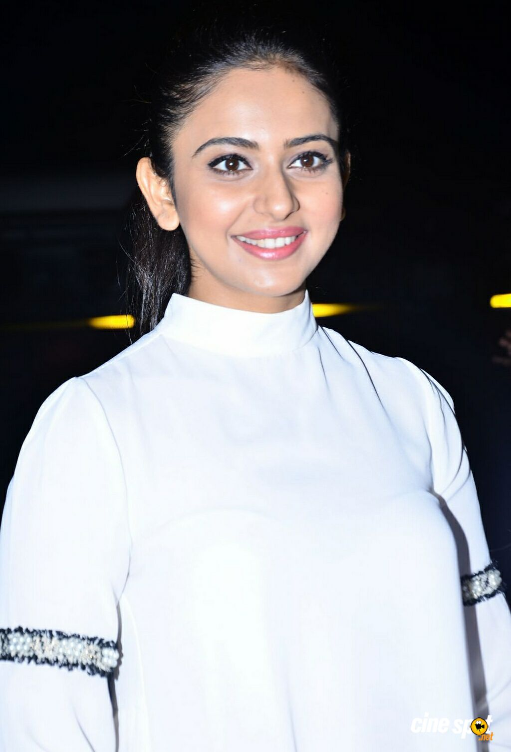 Rakul Preet Singh at Junior Kuppanna Restaurant Launch (18)