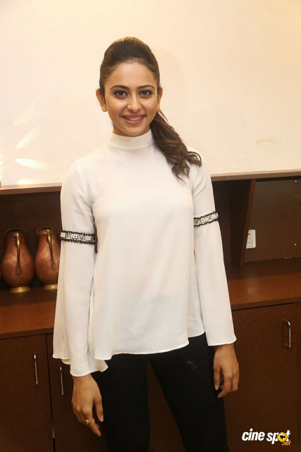Rakul Preet Singh at Junior Kuppanna Restaurant Launch (5)