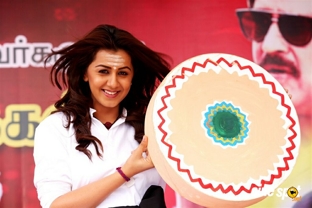 Nikki Galrani Stills in Pakka Movie (1)