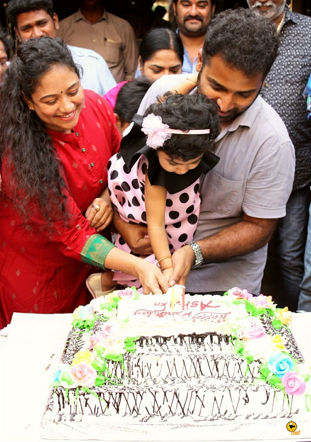 Lalitha Shobi Daughter Ashvika 2nd Birthday Celebration (4)