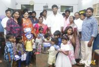 Actor Vishal Diwali Celebration Photos