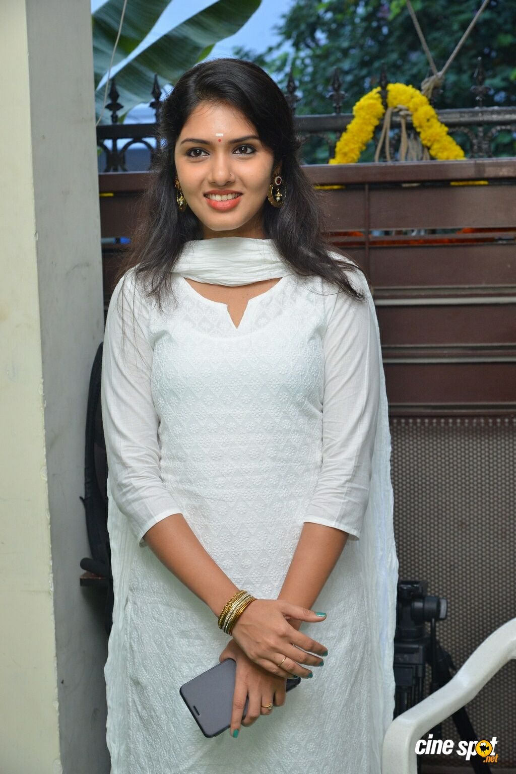 Gayathri Suresh at Lover Movie Launch (1)