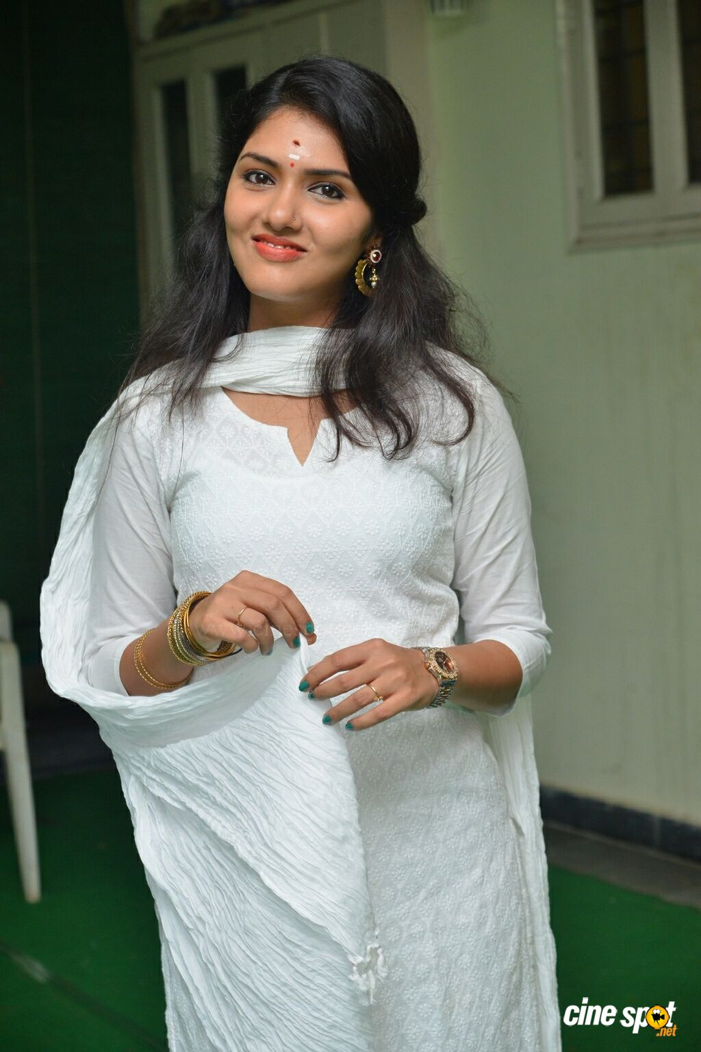 Gayathri Suresh at Lover Movie Launch (11)