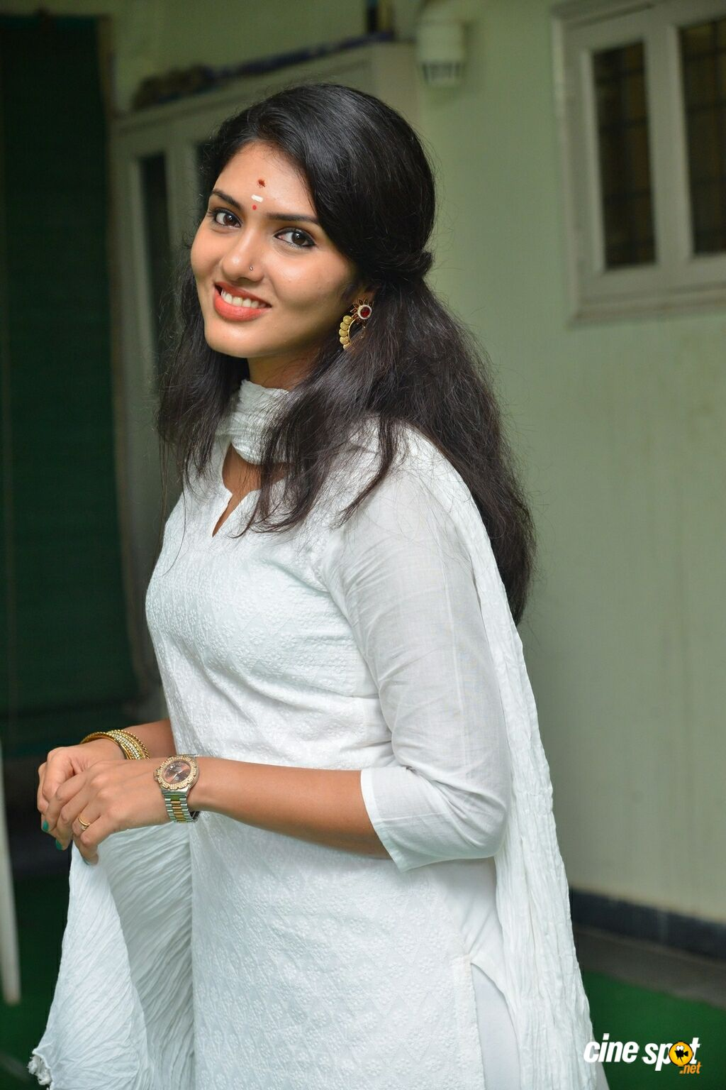Gayathri Suresh at Lover Movie Launch (13)