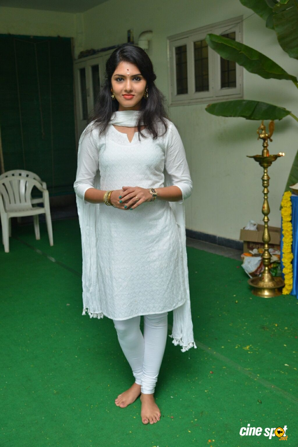 Gayathri Suresh at Lover Movie Launch (21)