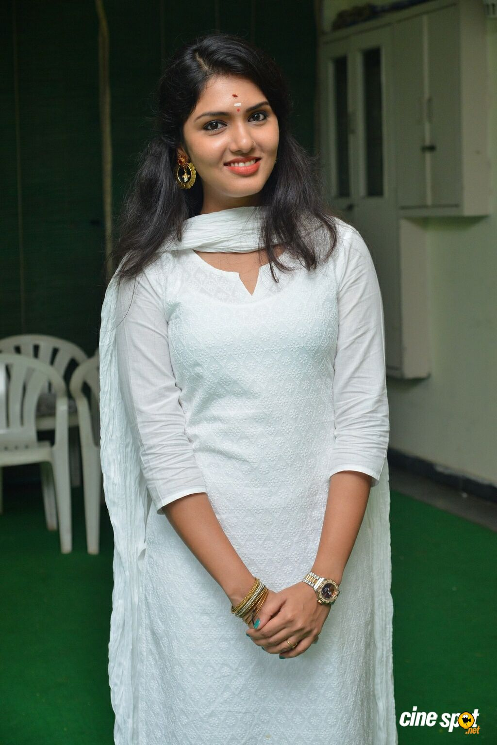 Gayathri Suresh at Lover Movie Launch (4)