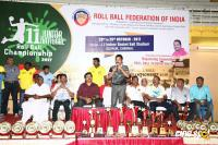 Karthi Felicitated 11th Junior National Roll Ball Championship Winners (11)