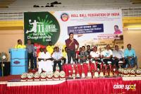 Karthi Felicitated 11th Junior National Roll Ball Championship Winners (12)