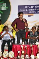 Karthi Felicitated 11th Junior National Roll Ball Championship Winners (13)