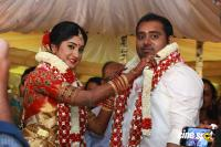 Producer Abinesh Elangovan & Nandhini Wedding Stills