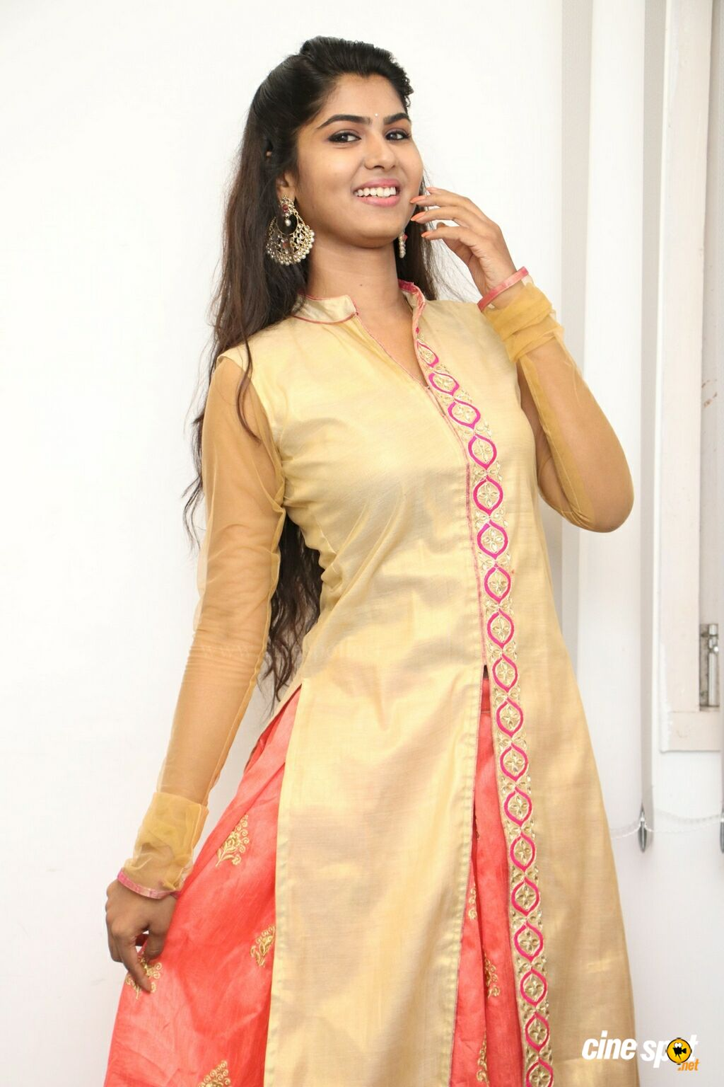 Upasana RC at Mouna Valai Movie Pooja (12)