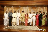 Rajinikanth At AVM Family Aparna Wedding Reception (2)