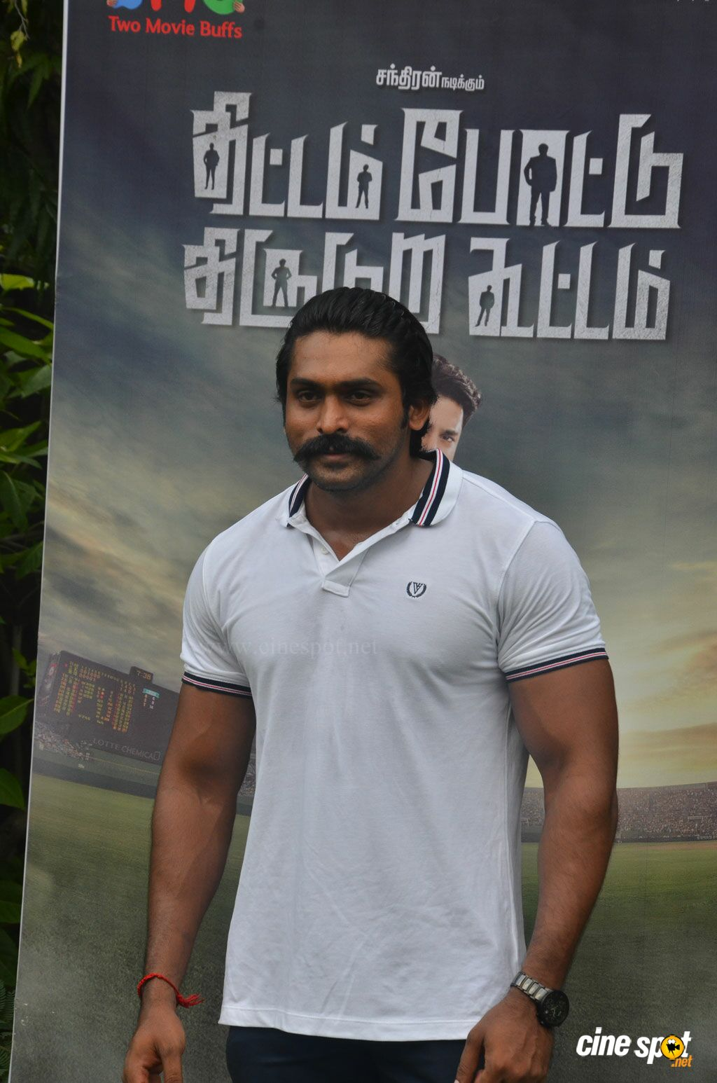 Arjai at Thittam Poattu Thirudura Kootam Audio Launch (6)