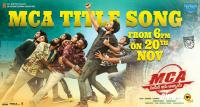 MCA Movie Title Song Poster