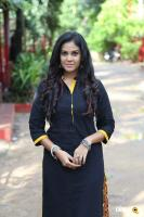 Chandini Tamilarasan at Karichoru Movie Pooja (2)