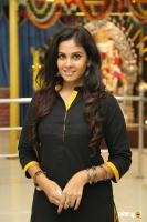 Chandini Tamilarasan at Karichoru Movie Pooja (3)