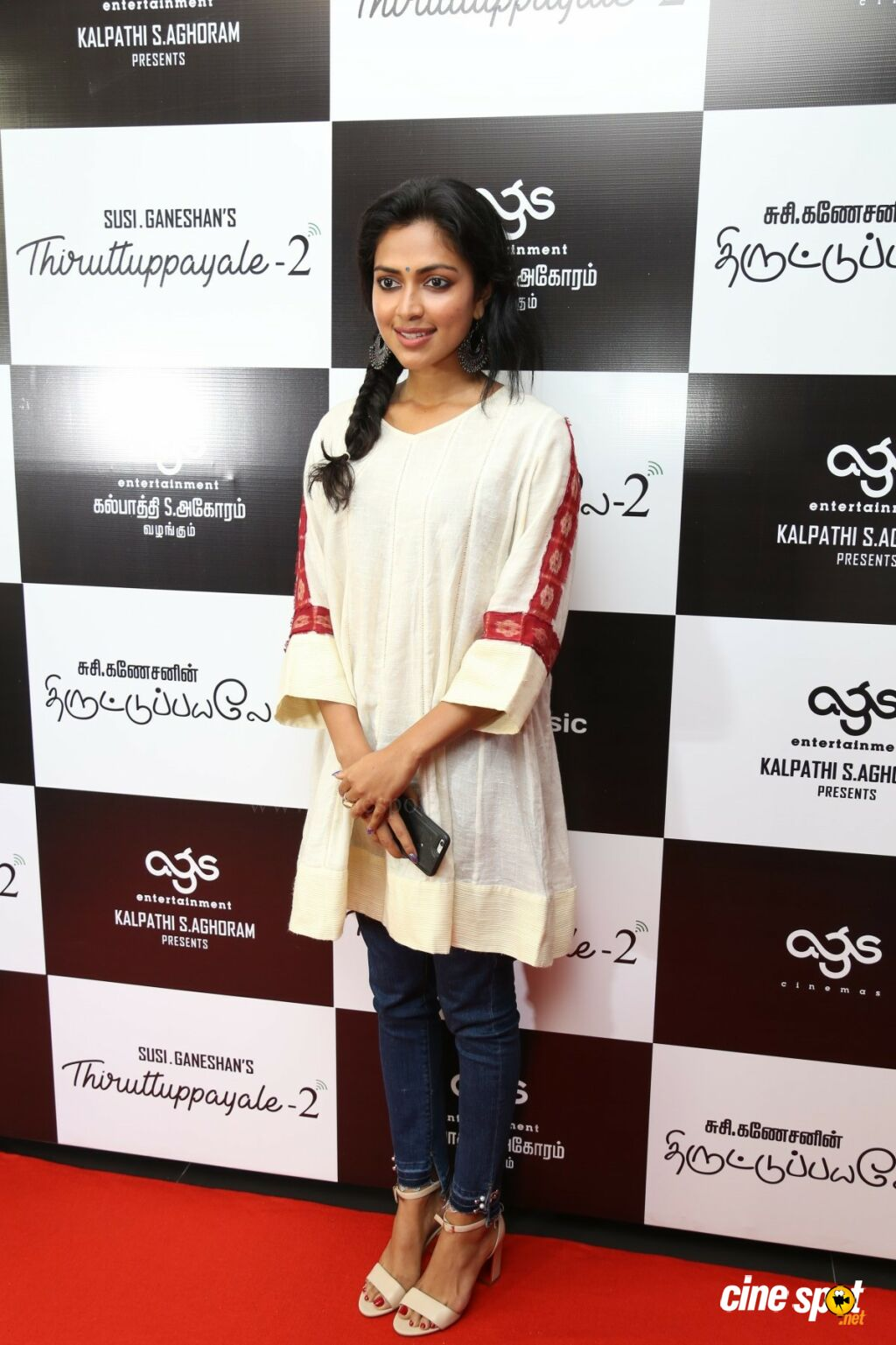 Amala Paul at Thiruttu Payale 2 Red Carpet Premiere Show (2)