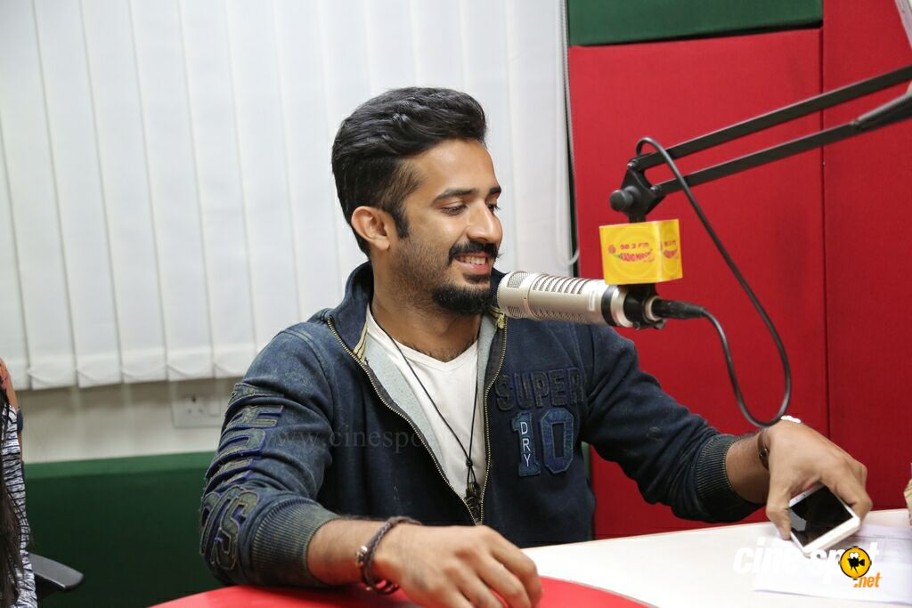 Idi Maa Prema Katha Team at Radio Mirchi 98.3 FM (1)