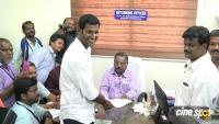 Actor Vishal Files Nomination for RK Nagar Bypoll Photos