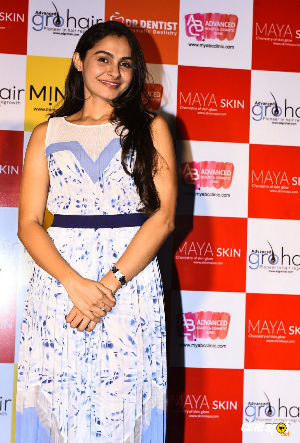 Andrea Jeremiah at The 15th ABC Clinic Launch (1)
