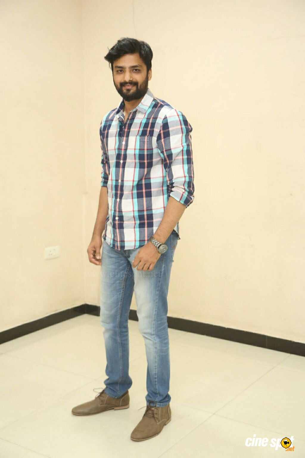 Nirup Bhandari at Rajaradham Trailer Launch (1)