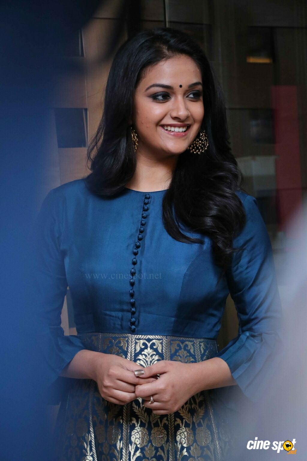 Keerthy Suresh at  Thaanaa Serndha Koottam Press Meet (1)