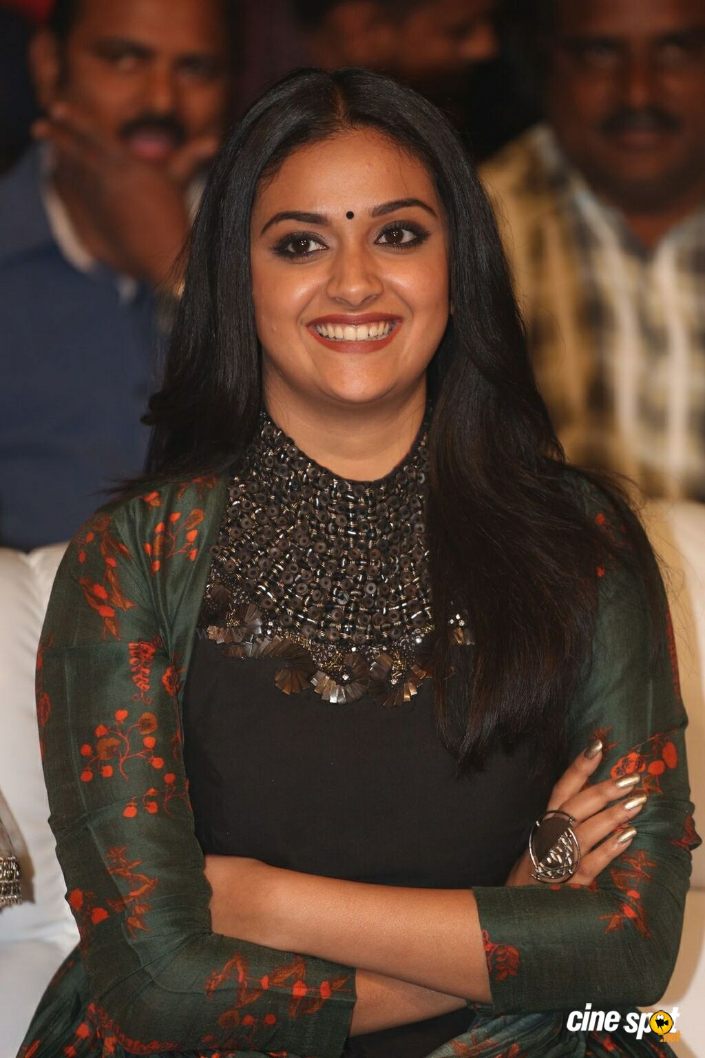 Keerthy Suresh at Gang Pre Release Event (1)