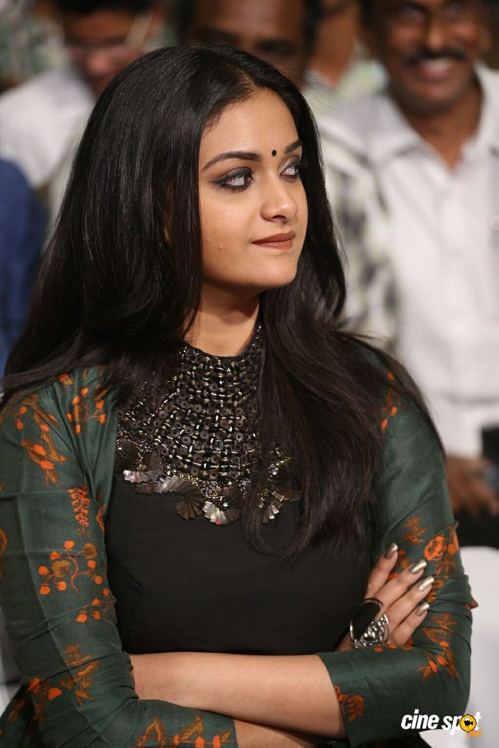 Keerthy Suresh at Gang Pre Release Event (12)