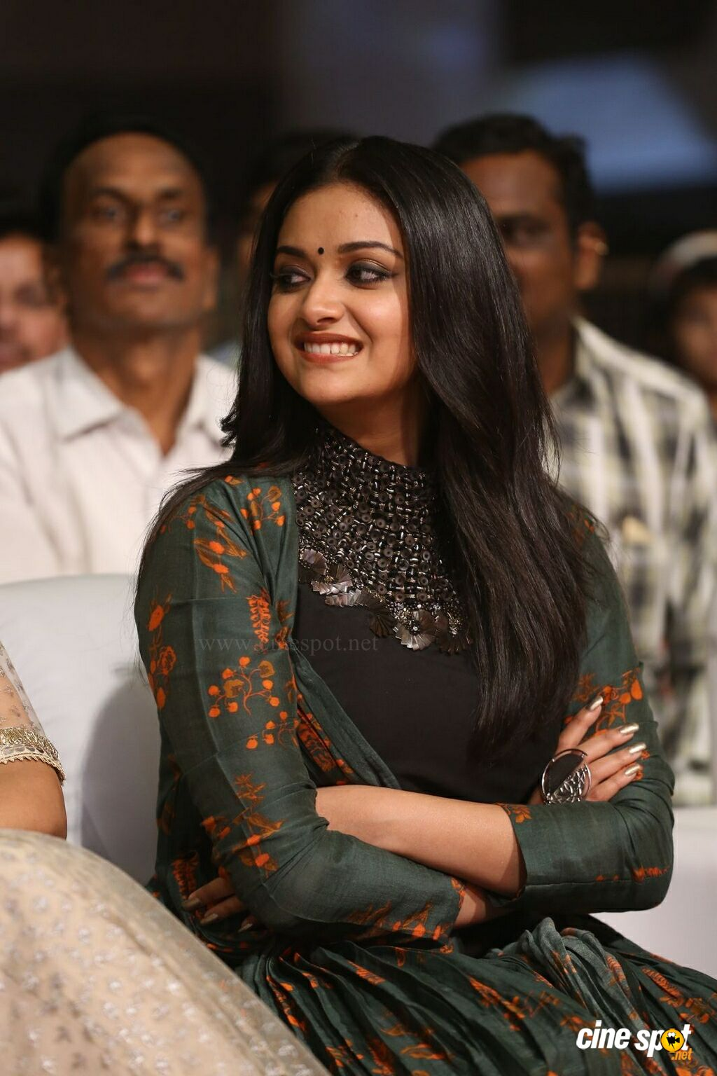 Keerthy Suresh at Gang Pre Release Event (14)