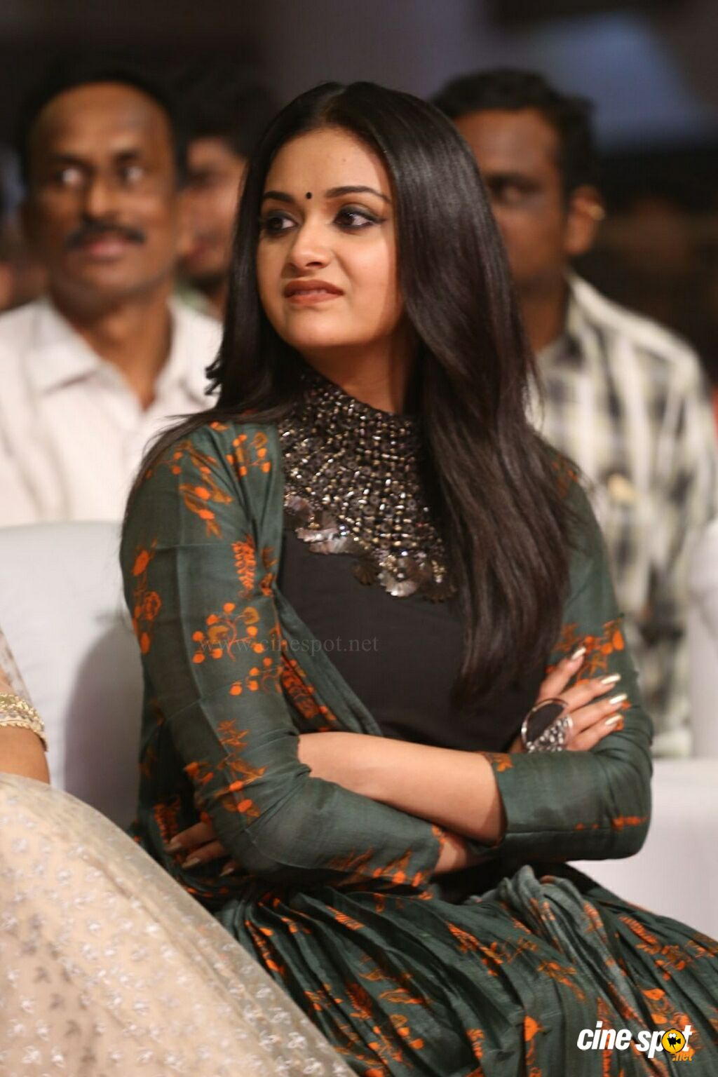 Keerthy Suresh at Gang Pre Release Event (15)