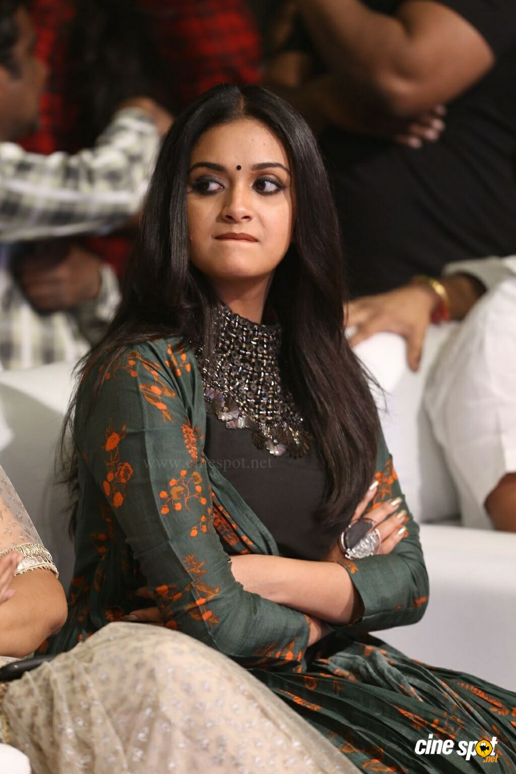 Keerthy Suresh at Gang Pre Release Event (17)