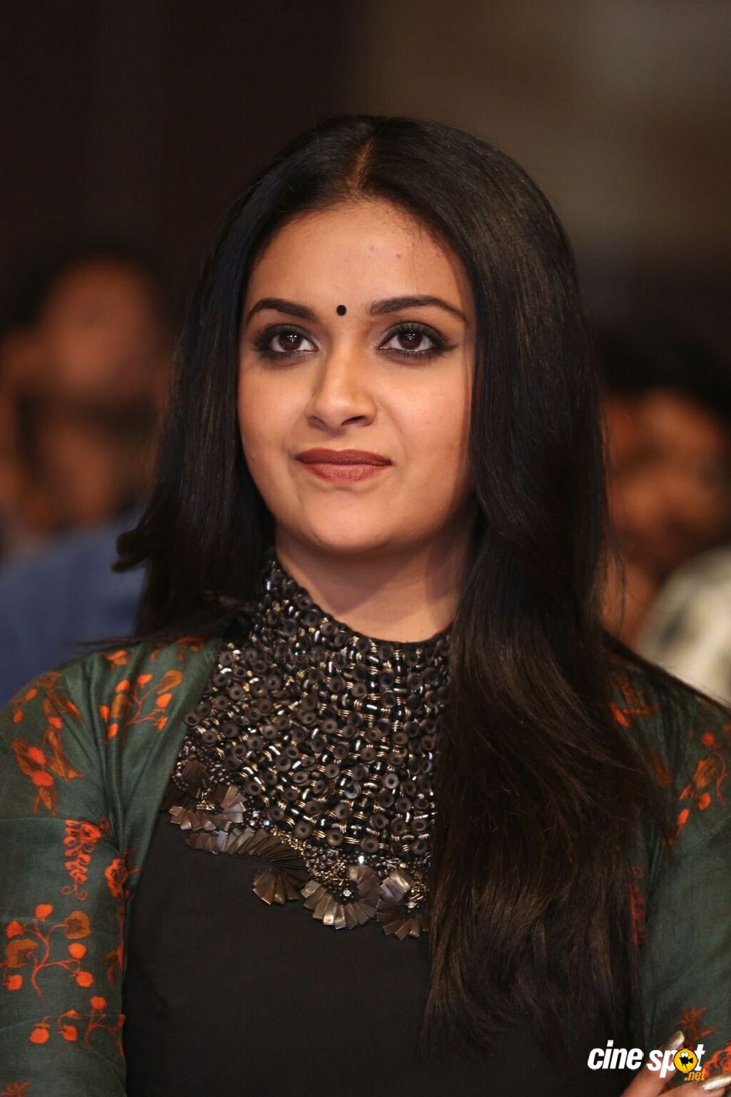 Keerthy Suresh at Gang Pre Release Event (8)
