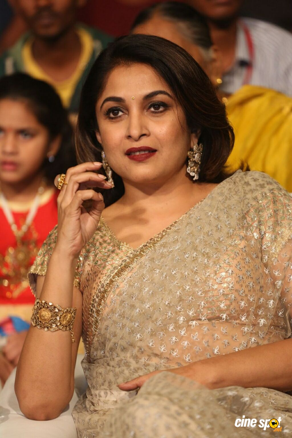 Ramya Krishnan at Gang Pre Release Event (13)