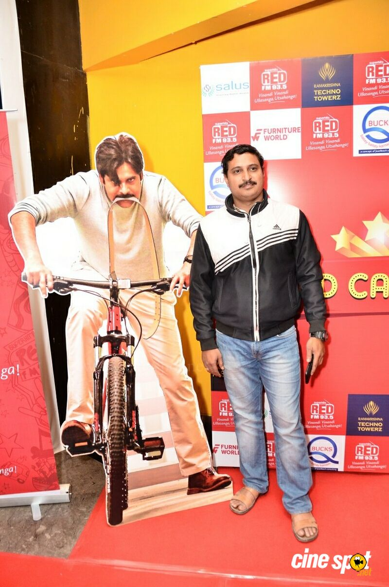 Red FM Red Carpet Show Agnyaathavaasi at PVR (9)