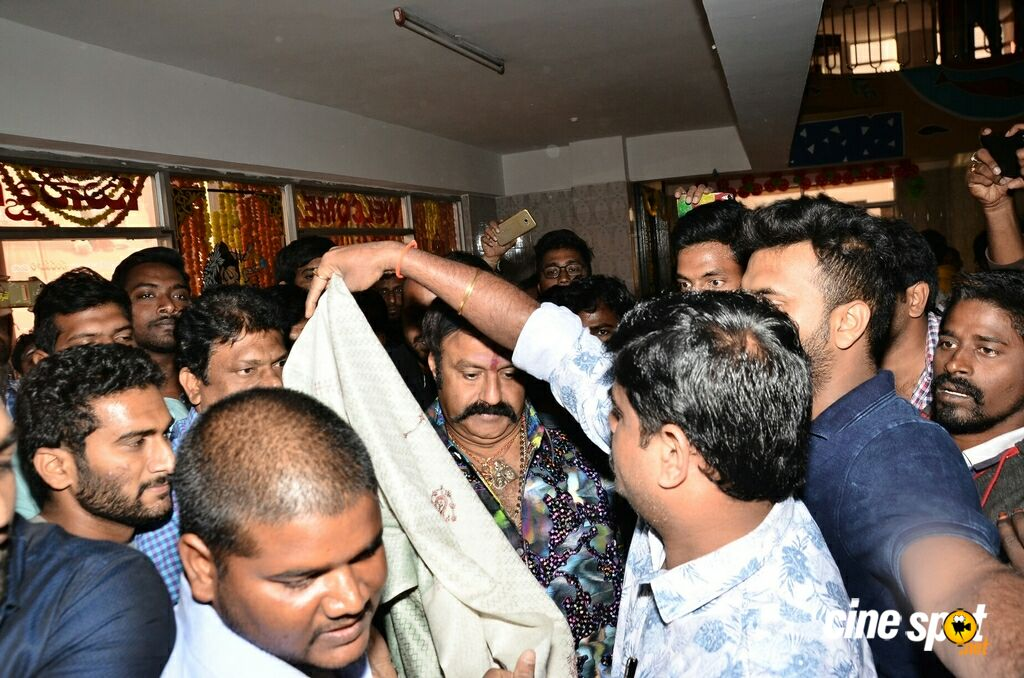 Jai Simha Theatre Coverage at Bramaramba Theatre (9)