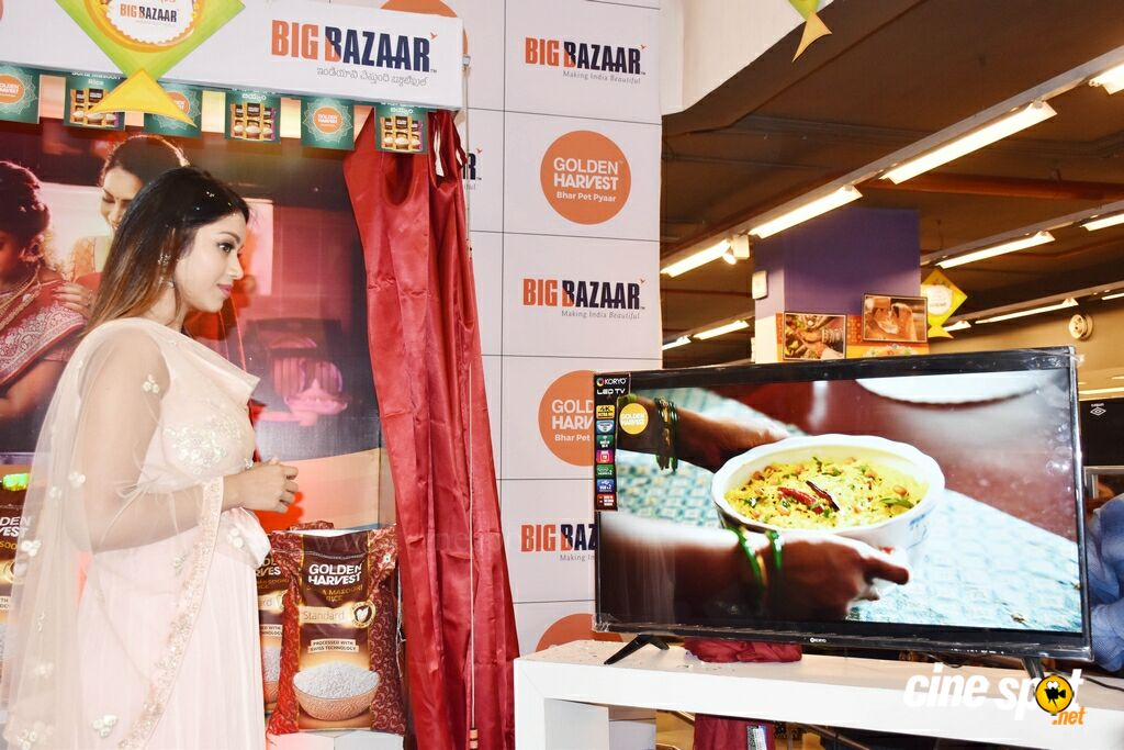 Golden Harvest Sona Masoori Rice Brand At Big Bazaar (10)