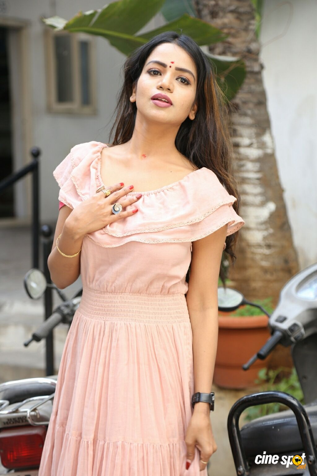 Bhavya Sri at Baggidi Gopal Movie Opening (7)