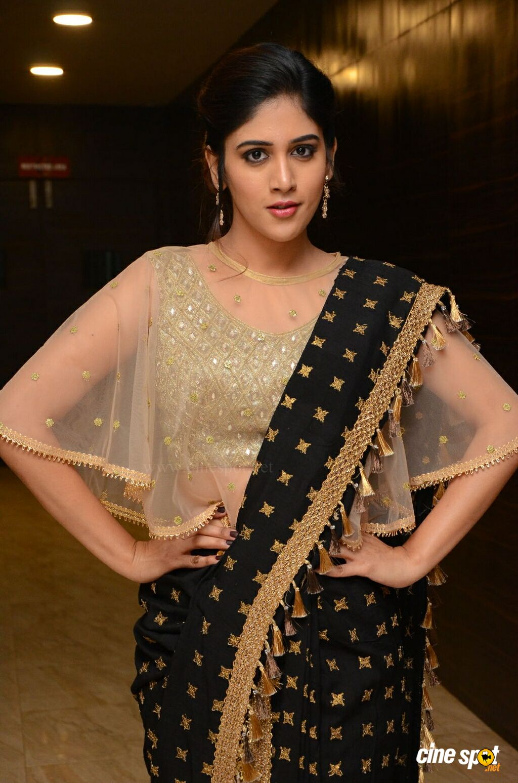 Chandini Chowdary at Howrah Bridge Audio Launch (7)