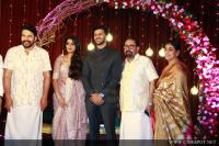 Mammootty at Sibi Malayil Daughter Engagement (1)