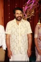Mammootty at Sibi Malayil Daughter Engagement (2)