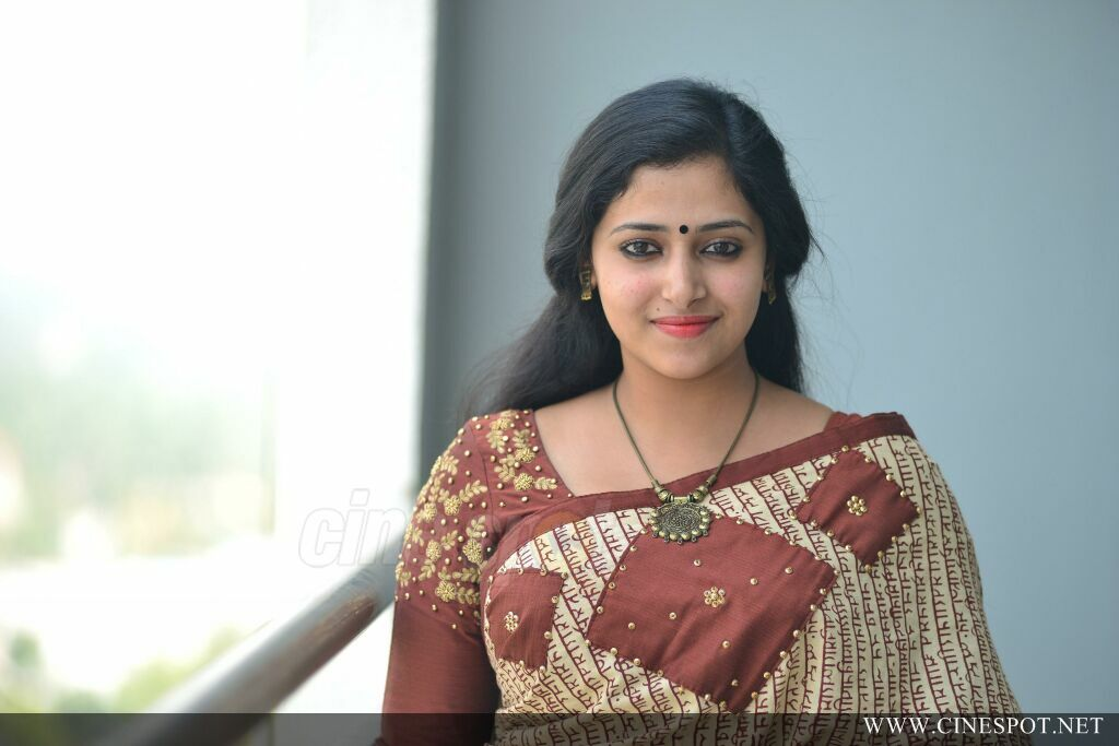 Anu Sithara at Captain Movie Promo Meet (3)