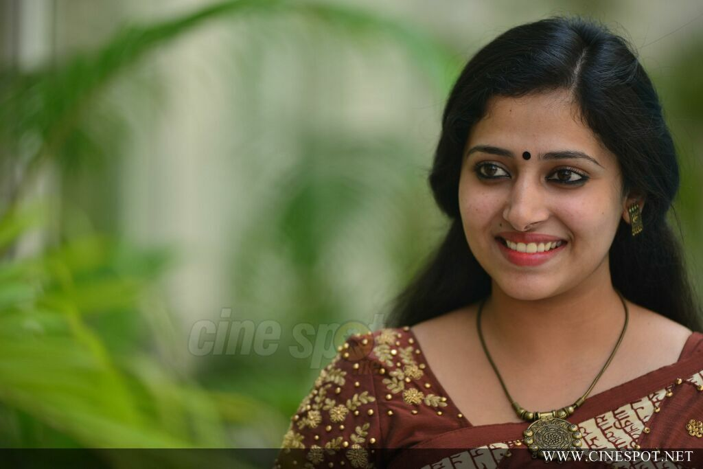 Anu Sithara at Captain Movie Promo Meet (30)