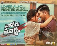 Naa Peru Surya Movie Song Release Posters (1)
