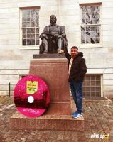 Nee Than Thamizhan Song Release At Harvard University (7)