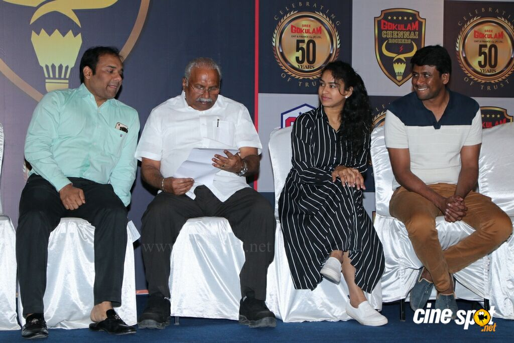 Gokulam Chennai Rockers Logo Launch (9)