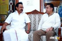 Kamal Haasan's Meeting with M Karunanidhi & MK Stalin (3)